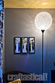 Cheap Crystal Floor Lamps Mid Century Stiffel Brass U0026 Glass Shelf Floor Lamp Chairish
