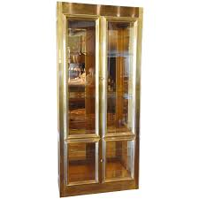 mastercraft brass vitrine for sale at 1stdibs