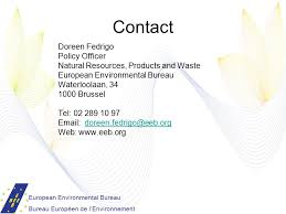 environmental bureau waste related policies ngo views doreen fedrigo policy officer