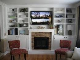 Electric Fireplace Wall by Electric Fireplace With Bookshelves Foter