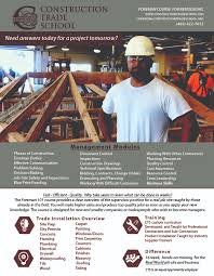 Construction Estimating Classes by Classes Construction Trade