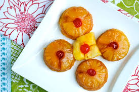 your southern peach pineapple upside down cupcakes