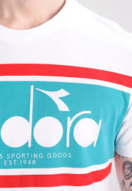 solebox diadora for sale diadora print t shirt optical white