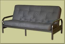 futon metal sofa bed black metal futon frame