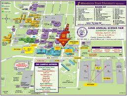 Arizona Spring Training Map by Maps U0026 Directions U2013 Parking U2013 Minnesota State University Mankato