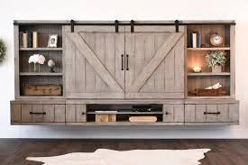 Wall Mounted Tv Cabinet With Doors Modern Mid Century Industrial Rustic Furniture U0026 Decor Woodwaves