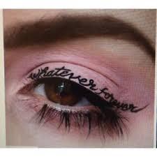 temporary eyeliner words black eye liner makeup