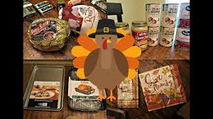 thanksgiving haul heb wal mart