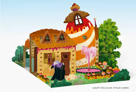 wouter tulp illustrator pop up house