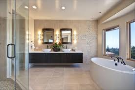 Master Bathroom Vanities Ideas Double Vanity Ideas And Cream Plywood Paneling Floating