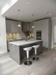 kitchen blue and white kitchen cabinets white kitchen floor grey