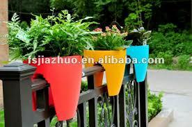balcony rail plastic flower pot wholesale buy flower pot flower