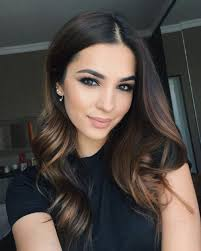 lightened front hair 29 incredible dark brown hair with highlights trending for 2018