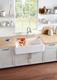 what is an apron front sink blanco introduces 36 apron front sink that saves counter space