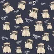 grumpy cat wrapping paper kitten fabric wallpaper gift wrap spoonflower
