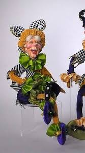 mardi gras jester dolls 11 best maradi gras doll images on mardi gras