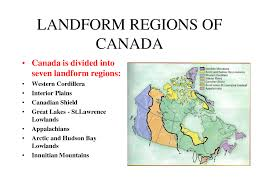 Appalachian Mountains Canada Map by Landform Regions Of Canada Home