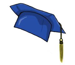 blue graduation cap graduation hat flying graduation caps clip graduation cap line