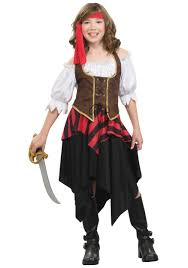 pirate halloween costume kids girls u0027 buccaneer sweetie costume child pirate halloween costumes