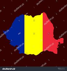 Map Of Romania Art Map Romania Gradient Stock Vector 407040910 Shutterstock