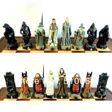 Buy Chess Set by 100 Theme Chess Sets Chessbaron The Zebra Black Zebra