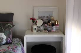 Vanity With Makeup Area by Makeup Vanity For Small Spaces The Makeup Box Shop