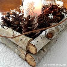 Birch Branch Winter Woodland Tablescape