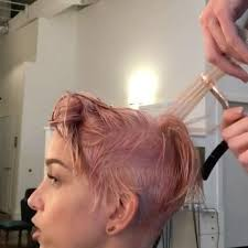 Light Burgundy Hair Anybody Else Love This Light Pink Hair Colour Inspirehairstyles