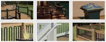 deck railing ideas deckorators