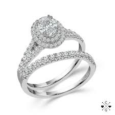 oval shaped engagement rings 14k white gold 1cttw oval shaped halo diamond engagement