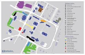 Tennessee Tech Map by Campus Map Seminaryweb Png