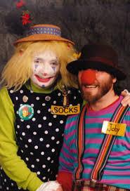 clowns for birthday in ny joby socks