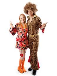 70 u0027s disco couple creative costumes
