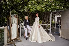 miranda kerr s wedding dress an exclusive look at custom