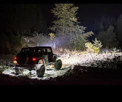 jeep wrangler rock lights sunpie 6 pod led rock lights kit for off road jeep truck car atv suv