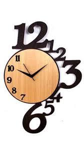 Designer Clock Fascinating Wooden Wall Clocks Online 36 Wooden Wall Clocks With