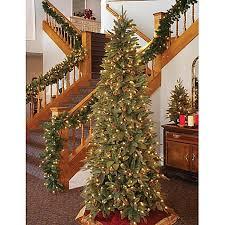 bethlehem lights christmas trees bethlehem lights 6 5 foot green river spruce slim profile christmas