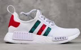 adidas x gucci shopstylepixie adidas nmd r1 x gucci white
