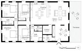 plan maison contemporaine plain pied 3 chambres plan gratuit maison plan maison moderne gratuit pdf plan maison