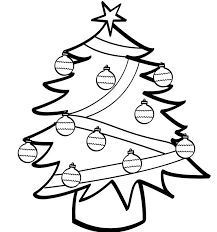 christmas tree coloring sheet christmas tree coloring pages