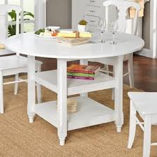 beautiful design round white dining table incredible round white