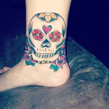 26 best red rose on ankle tattoo designs images on pinterest