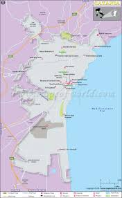 Road Map Of Italy by Catania Map Map Of Catania City Italy