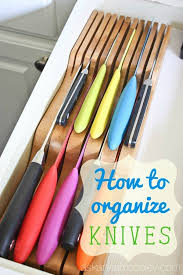 kitchen cabinet knife drawer organizers free up counter space by using the totally bamboo 20 2091 in drawer