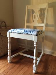 Occasional Dining Chairs Vintage White Painted Vase Back Upholstered 1920s Chair Occasional