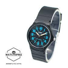 Jam Tangan Casio Karet casio analog jam tangan pria hitam karet mq 71 1b daftar