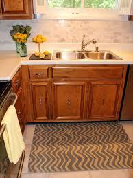 kitchen tile backsplash installation kitchen how to install a marble tile backsplash hgtv 14009705