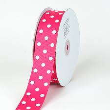 polka dot ribbon 3 8 7 8 1 1 2 inch polka dots grosgrain ribbon 50 yards polka