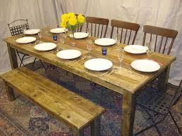 luxurious driftwood dining room table homeideasblog com