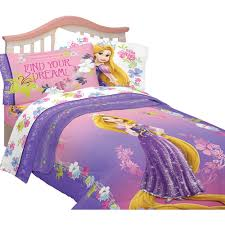Tangled Bedding Set Disney Tangled Reversible Comforter Walmart